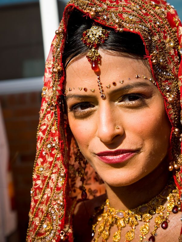 Asian Bridal Makeup by Catherine Cliffe for Nina in Leicestershire