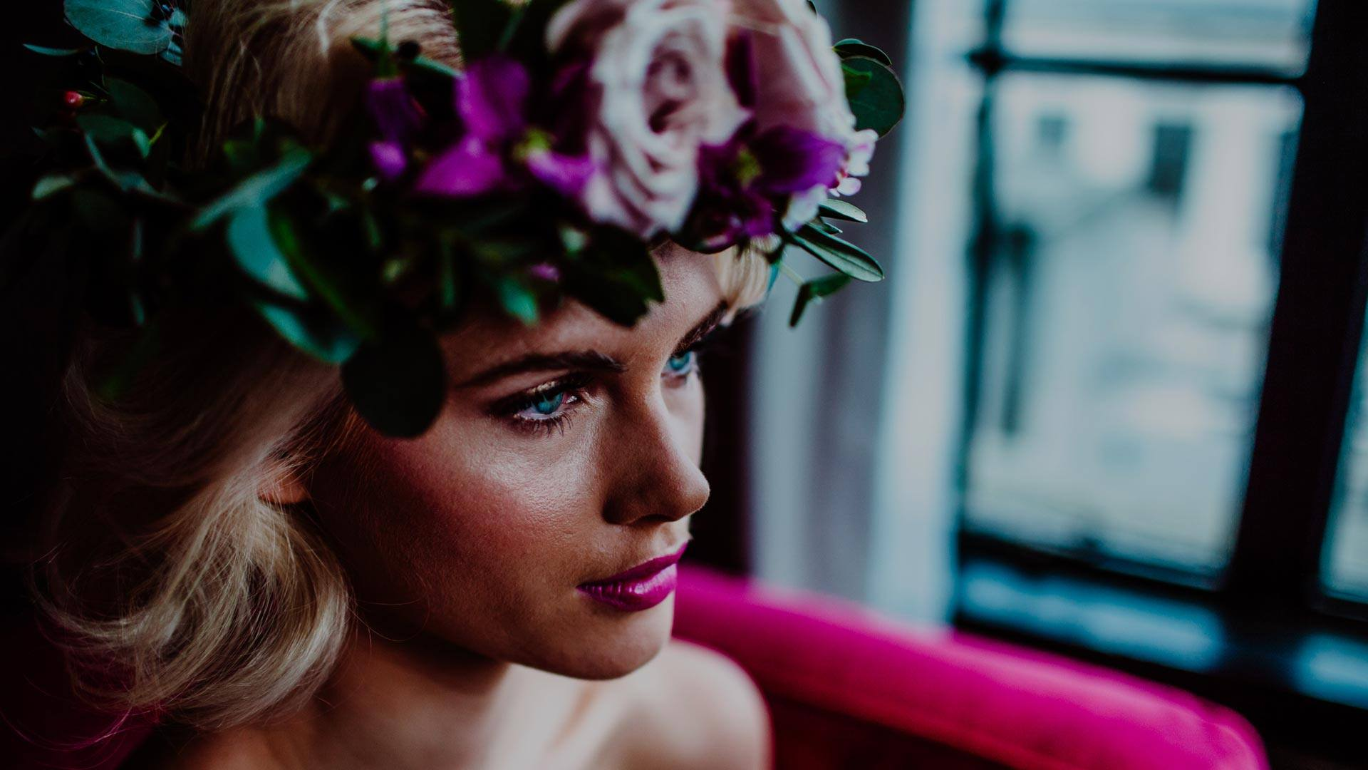Bridal Makeup by Catherine Cliffe, Makeup Artist at The Gotham Hotel in Manchester